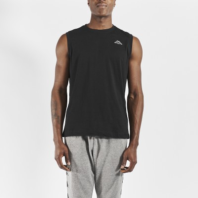 Cadwal black T-shirt for men