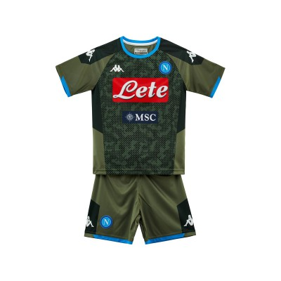 Kombat Napoli SSC Away 19/20 Kid's Set