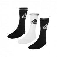 Soccer 3 black unisex socks