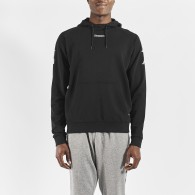 Kortus black sweatshirt for men