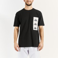Ewan black t-shirt for men