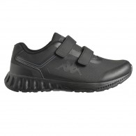 Faster Velcro black shoes for men