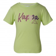 Quissa green t-shirt for girls