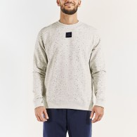 Icasoni white sweatshirt for men